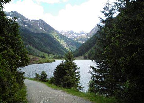 Rakousko, Štýrsko. Jezero Riesachsee