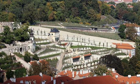 Praha, Svatováclavská vinice, Pražský hrad