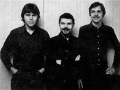 Bratři Ebenové (zleva Marek, Kryštof, David)