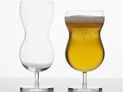 Tvar sklenic Buble ocení i milovníci piva
