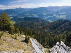 Rakousko, Štýrsko, nedaleko Gröbmingu