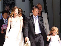 Mark Wahlberg s nevěstou Rheou Durhamovou