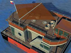 Obytná loď Riverbull
