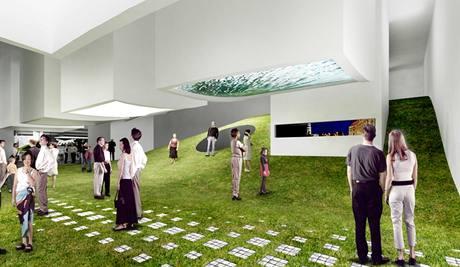 Vizualizace českého pavilonu pro Světovou výstavu EXPO 2010 v Šanghaji
