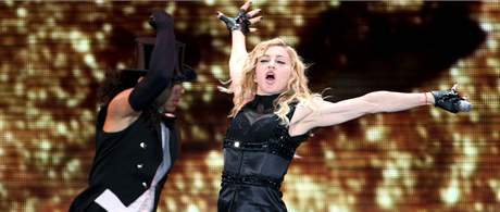 Koncert Madonny v Praze. (13. srpna 2009)