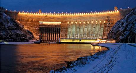 Sajansko-šušenská hydroelektrárna v Rusku.