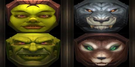 Worgeni a goblini - masky