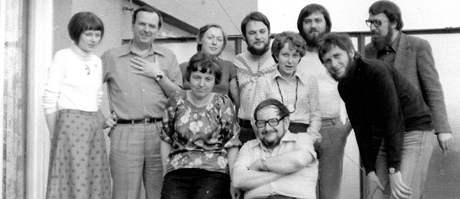 Trefulka, Uhde a další v roce 1979.