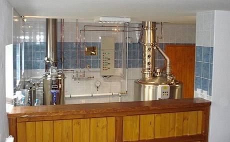 Destilační technolologie v Bozízovské pálenici