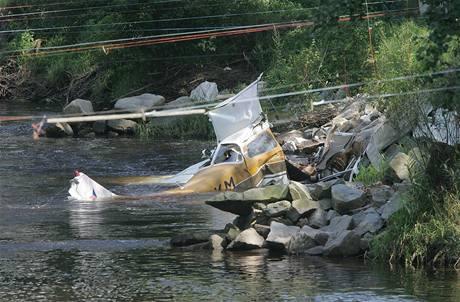 Havárie Cessny 172 u Strakonic (16.8.2009)