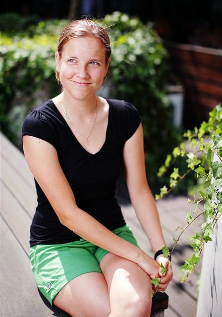 Monika Klušáková - vítězka čtenářské soutěže poběží marathon v Chicagu
