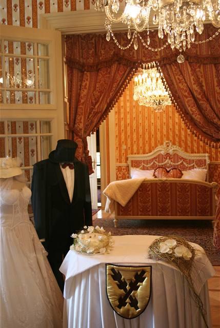 Zámek Letovice, svatební ložnice
