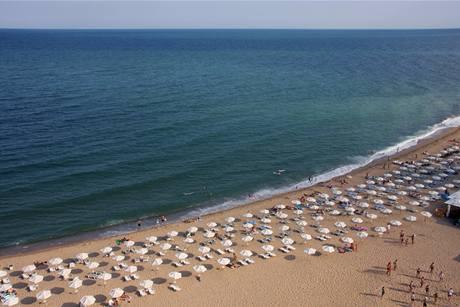Pláž Obzor v Bulharsku
