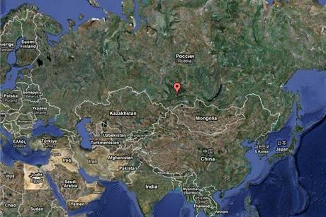 Oblast, kde se nachází Sajansko-šušenská hydroelektrárna