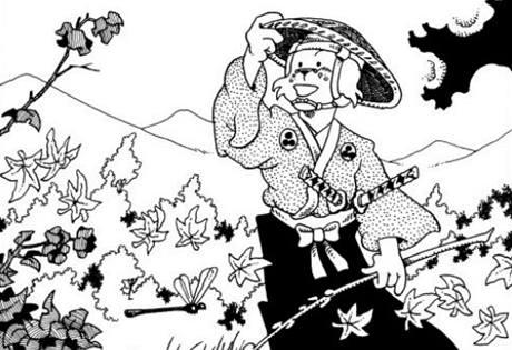 Stan Sakai: z komiksu Usagi Yojimbo