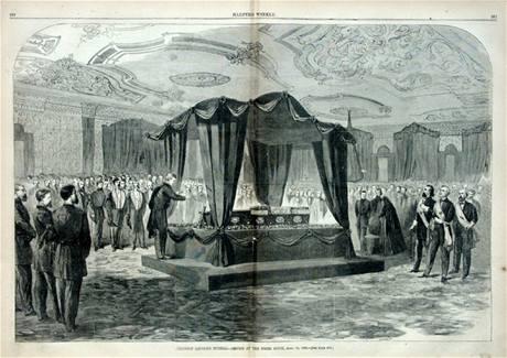 Pohřeb amerického prezidenta Abrahama Lincolna