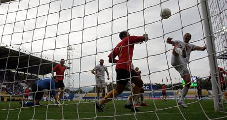Česko - Belgie: Rozehnal dává gól