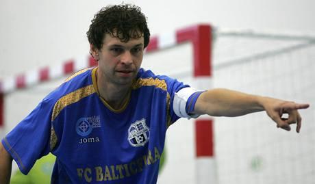 Teplice - Chrudim: teplický futsalista Martin Dlouhý