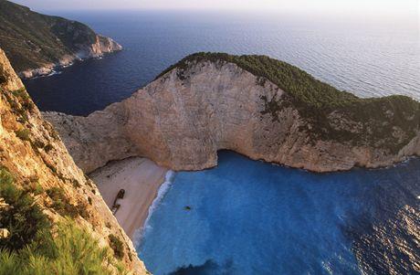 Řecko, Zakynthos, pláž Navagio