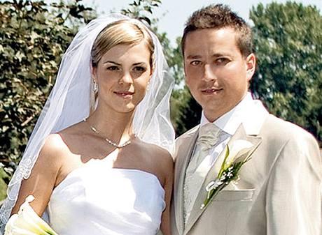 Petr Bende s manželkou
