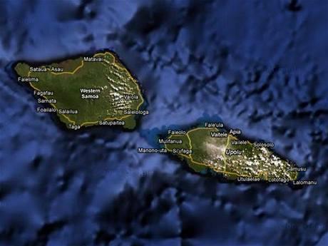 Samoa má jen něco přes 1 100 kilometrů silnic