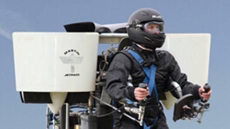 Tryskový batoh Martin Jetpack