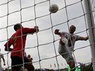Česko - Belgie: Rozehnal dává gól - David Rozehnal dává gól proti Belgii.