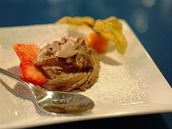 Čokoládová pěna s chilli - menu v restauraci Boulevard