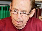 Václav Havel na Hrádečku.