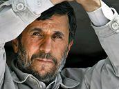 Íránský prezident Mahmúd Ahmadínežád.