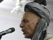 Kandidát na afghánského prezidenta Ašraf Ghaní