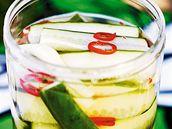 Nakládané cukety s chilli