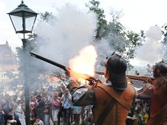 364. výročí obléhání Brna Švédy