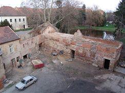 Škvorec před rekonstrukcí