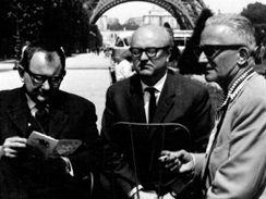 Trefulka, Petiška a Branald v 60. letech v Paříži.