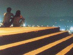 Vizualizace vyhlídkové pyramidy na Černovické terase.