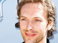 Chris Martin ze skupiny Coldplay