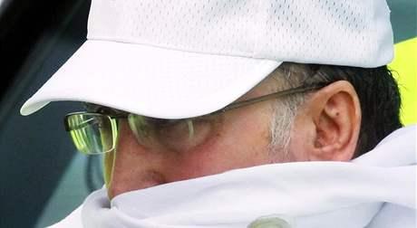 Abdal Basat Alí Muhammad Midžrahí poté, co ho Skotsko propustilo z vězení z humanitárních důvodů. (20. června 2009)