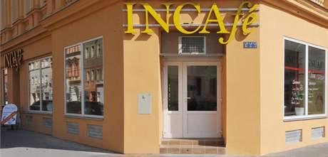 Nová kavárna Incafé na Cejlu