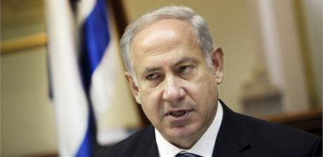 Izraelský premiér Benjamin Netanjahu. (23. srpna 2009)