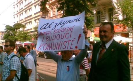 Vzpomínkový akt při příležitosti vpádu okupačních vojsk do Československa v srpnu 1968