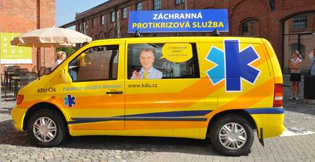 Lidovci zahájili předvolební kampaň ve Vaňkovce.