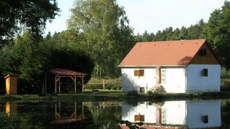 Rybaření na pravé jihočeské rybářské baště.