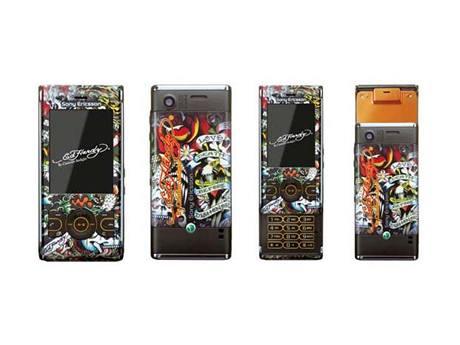 Sony Ericsson W595 Ed Hardy