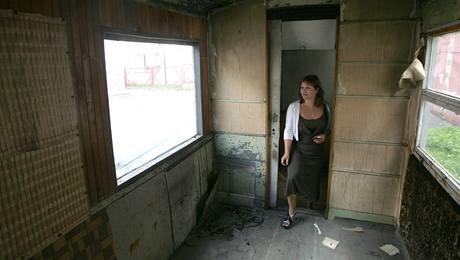 Okna byla v padesátých letech vyměněna
