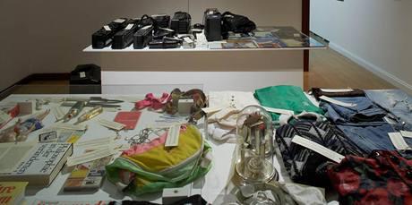 Monument transformace. Peggy Meinfelder: 100 západních marek, 2003–2006, kolekce objektů. Majetek autorky.