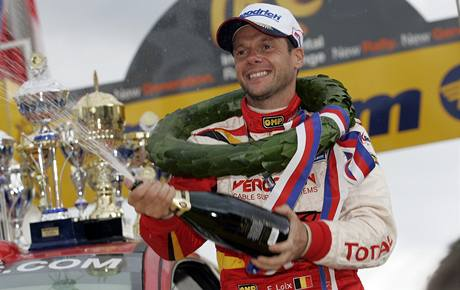 Barum rally 2008: vítěz Freddy Loix