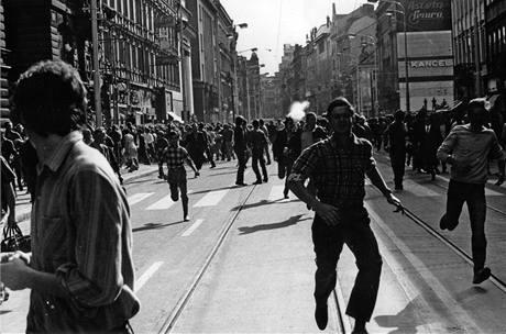 Srpen 1969 v Praze