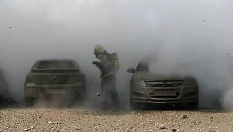 Výbuch parovodu v Českých Budějovicích. (24. srpna 2009)