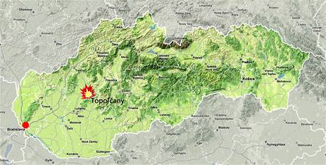 Výbuch na Slovensku
